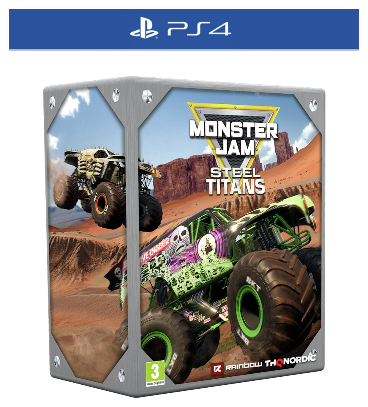 Monster Jam: Steel Titans Collector's Edition PS4 Game