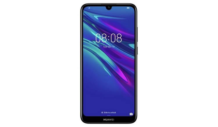 Buy SIM Free Huawei Y6 32GB Mobile Phone - Midnight Black | SIM ...