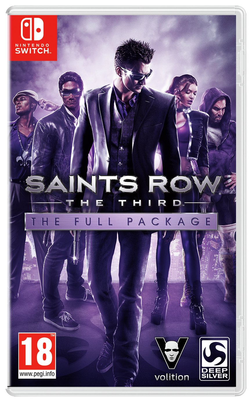 Saints Row III: The Full Package Switch Pre-Order Game review