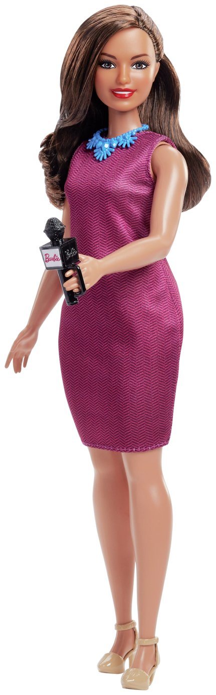 Barbie: I Can Be a Journalist (60th Career Doll) review