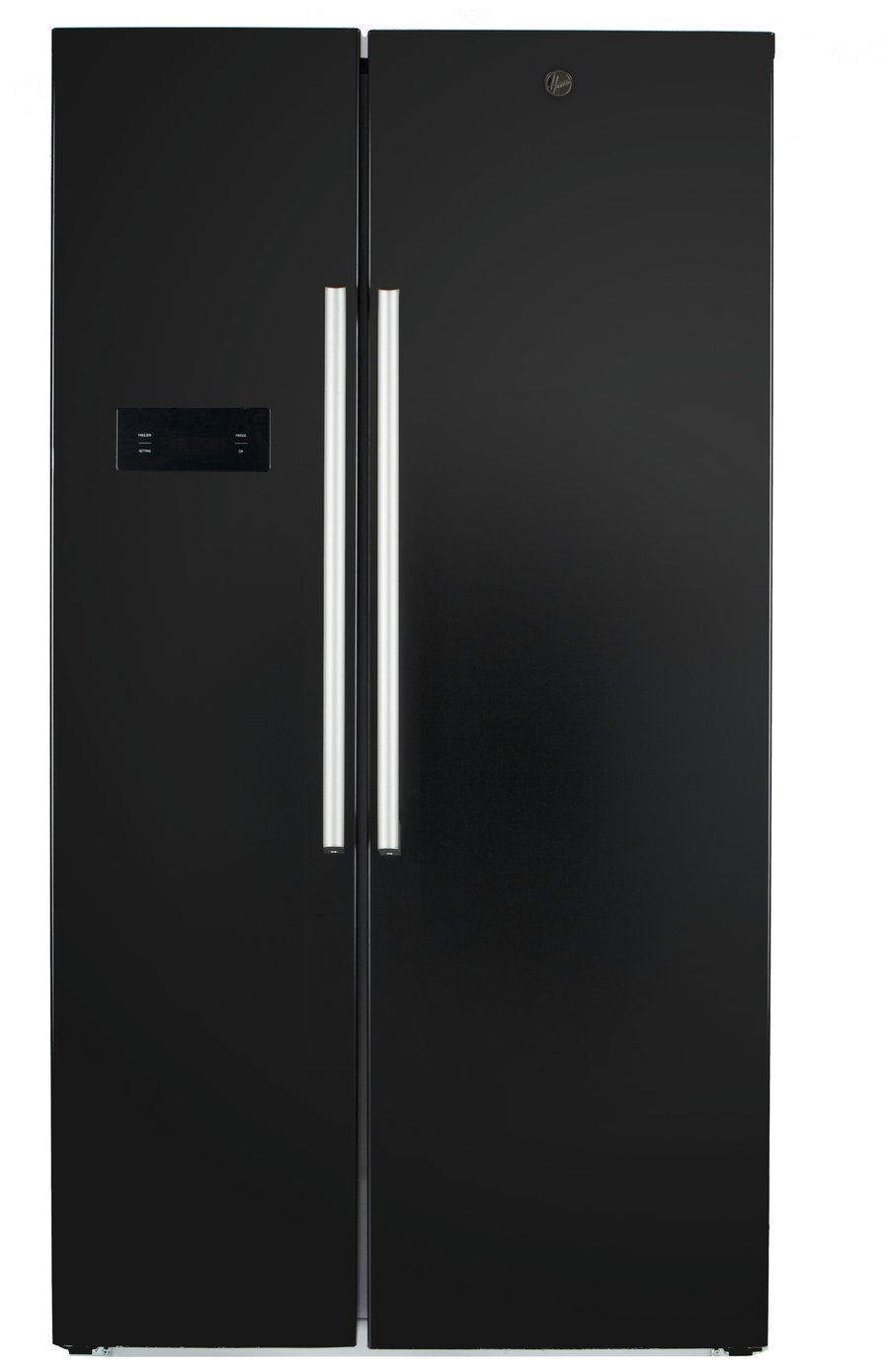Hoover HSBSF 178BK American Fridge Freezer - Black