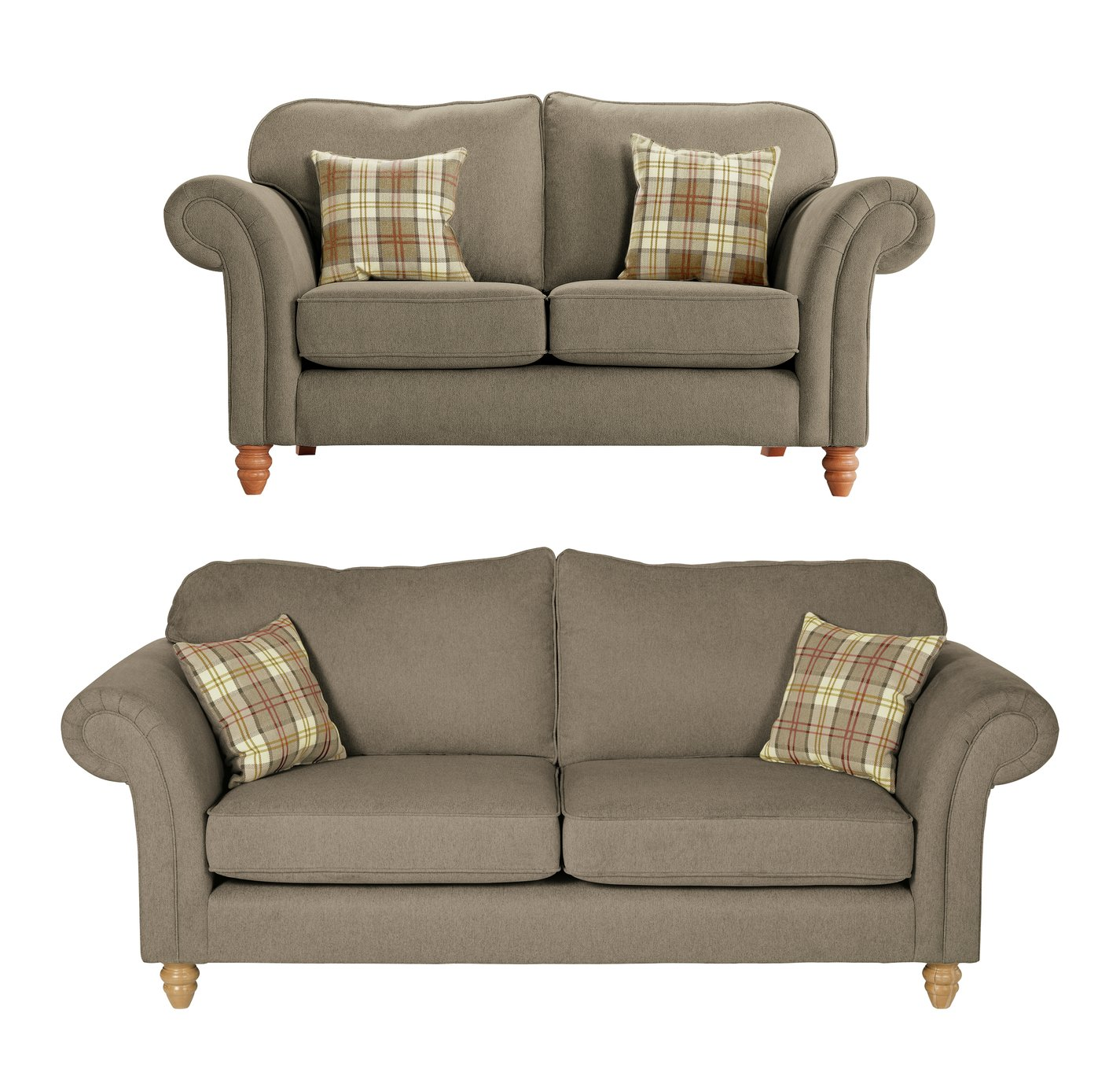 Argos Home Windsor Fabric 2 Seater & 3 Seater Sofa review