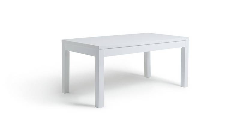 Habitat Lyssa XL Extending 6 - 8 Seater Table - White