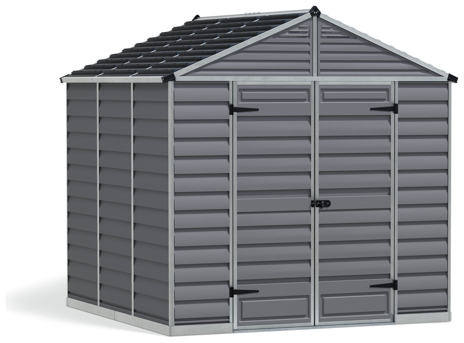 Palram Skylight Plastic 8 x 8ft Shed review