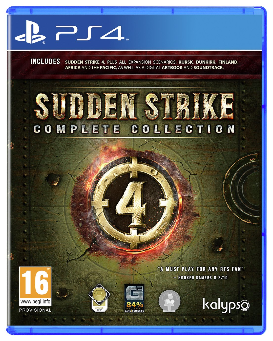 Sudden Strike 4: Complete Collection PS4 Pre-Order Game