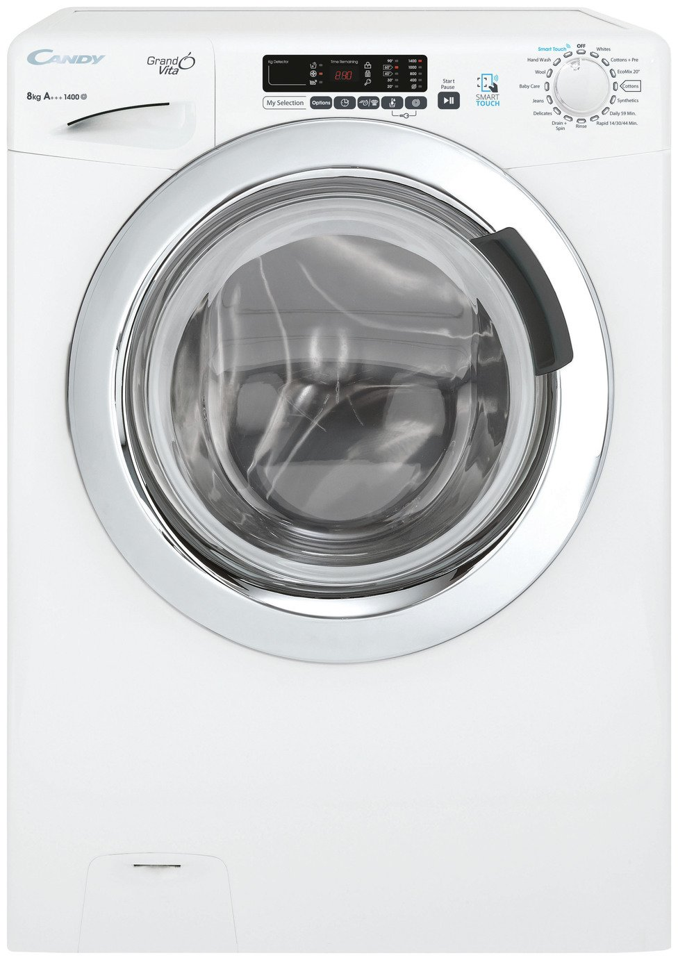 Candy GVS 148DC3 8KG 1400 Spin Washing Machine - White