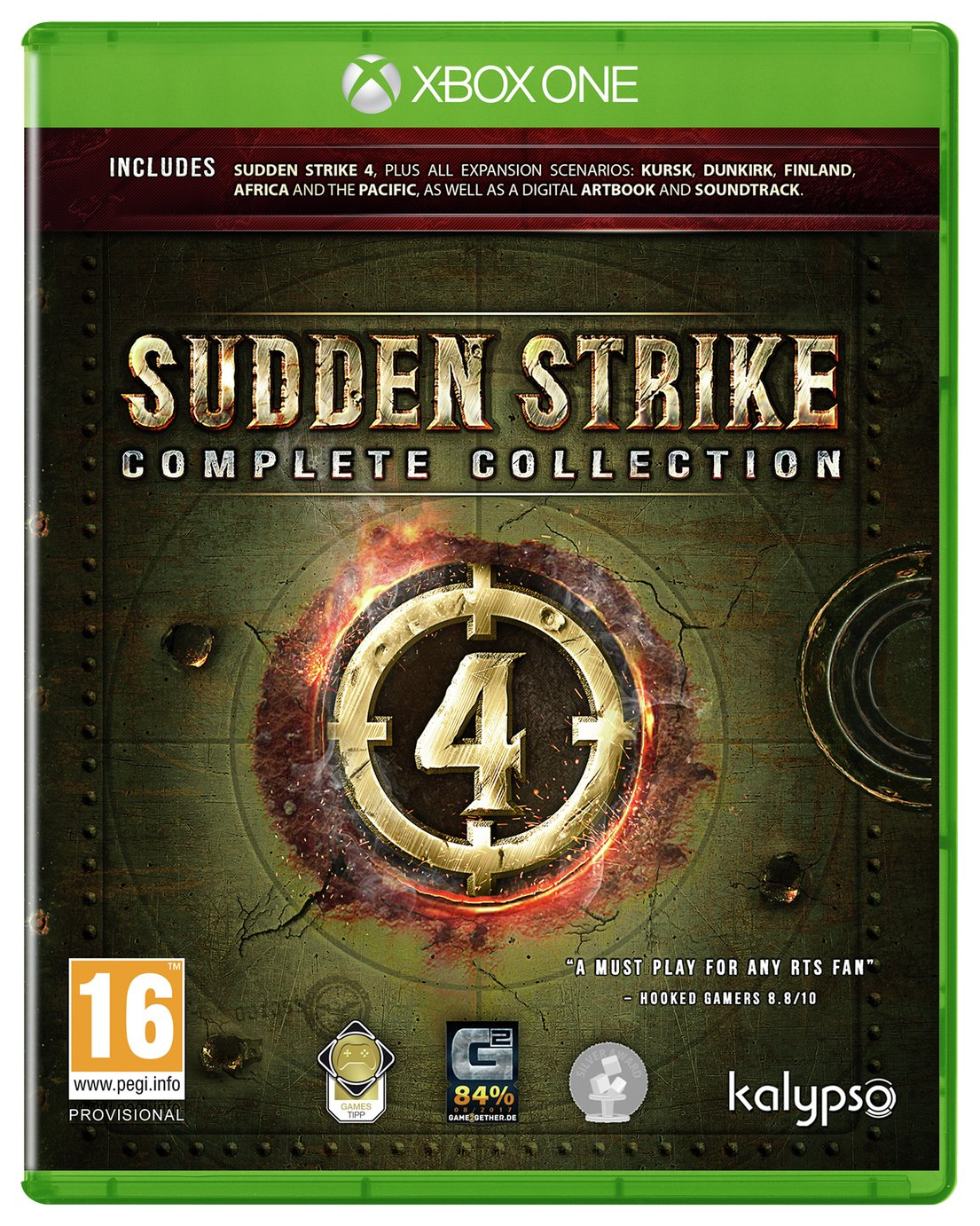 Sudden Strike 4 Complete Collection Xbox One Pre-Order Game
