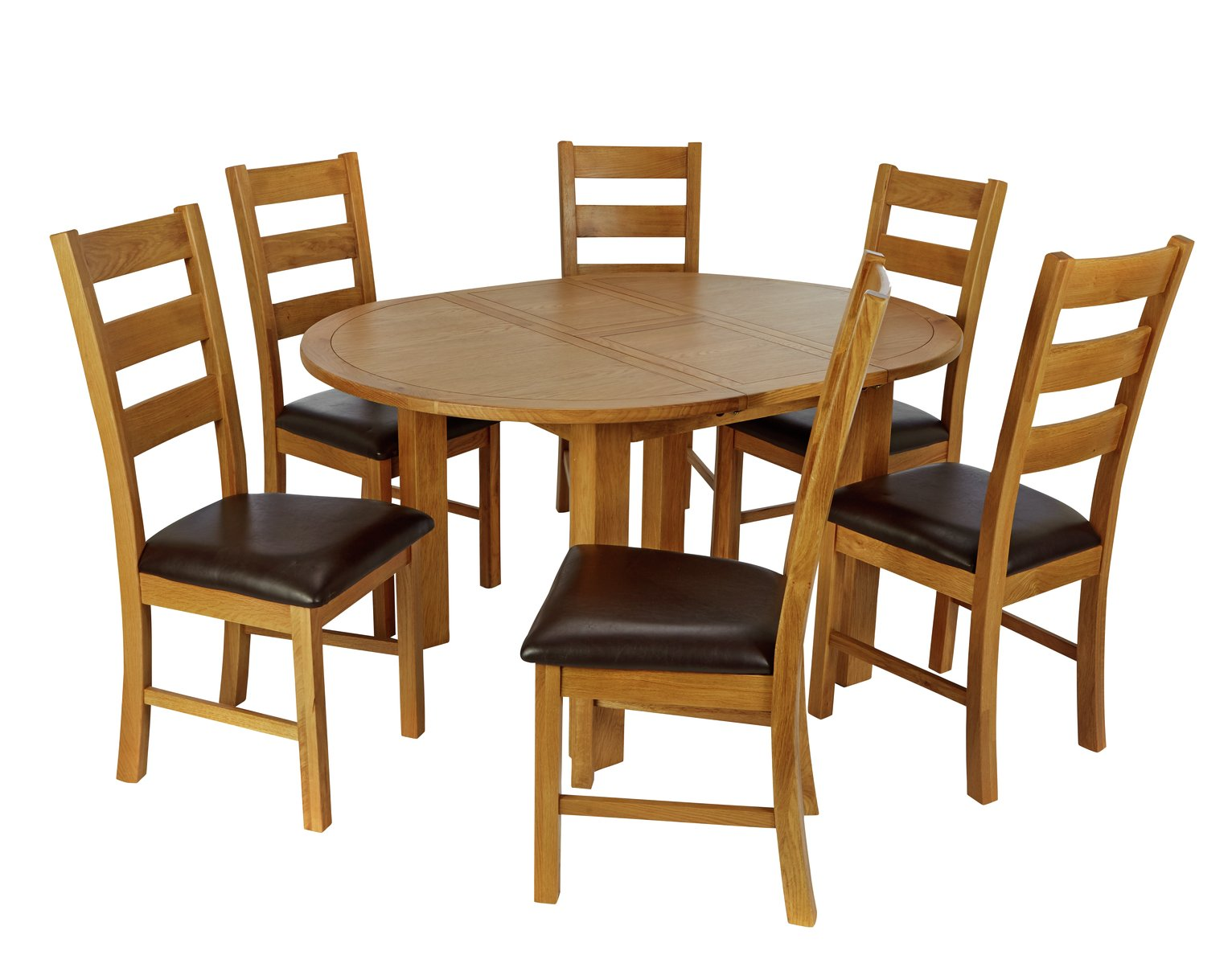 Argos Home Ashwell Extendable Table & 6 Farmhouse Chairs review
