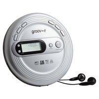 Groov-e Retro Personal CD Player - Silver