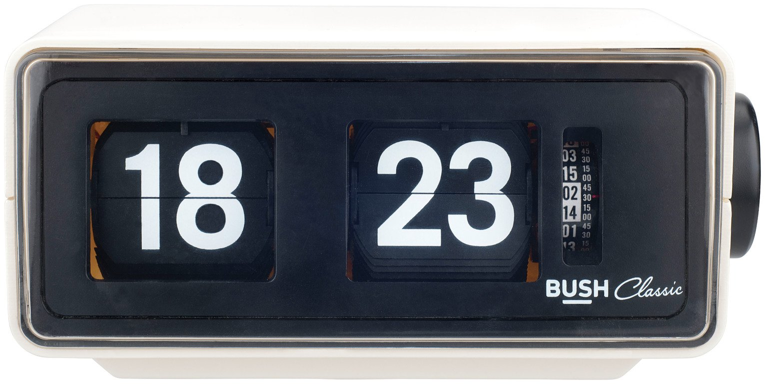Bush Classic Flip Radio Alarm Clock review