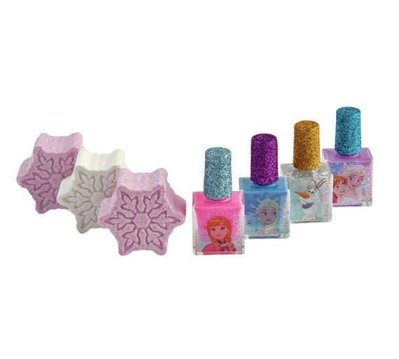 05f49dd5bff07 Details about Disney Frozen Eternal Winter Pamper Your Little Ice Princess  Bath Time Has Set