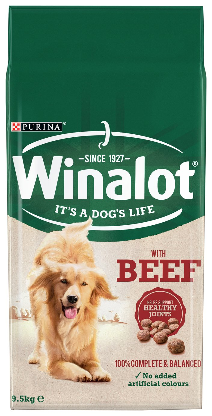 Winalot Adult Dry Dog Food Beef 9.5kg review