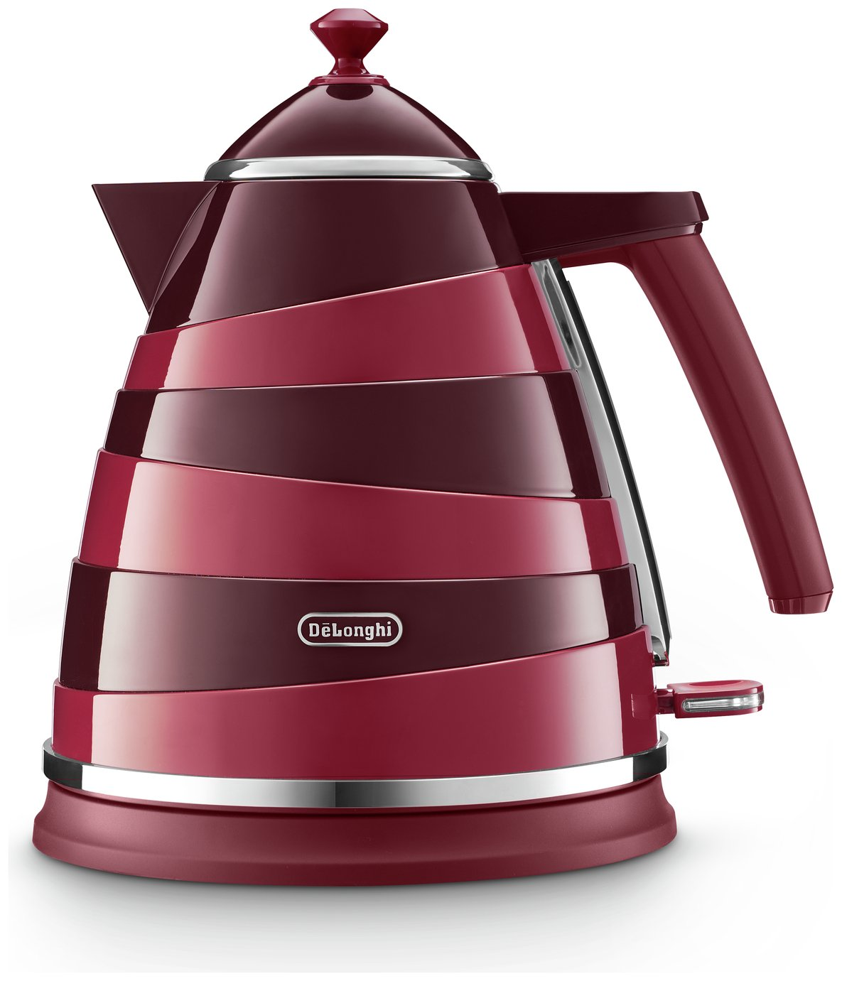 De'Longhi KBAC3001.R Avvolta Kettle - Red & Black