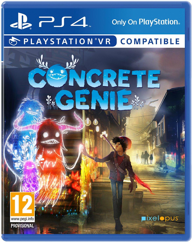 Concrete Genie PS4 Pre-Order Game