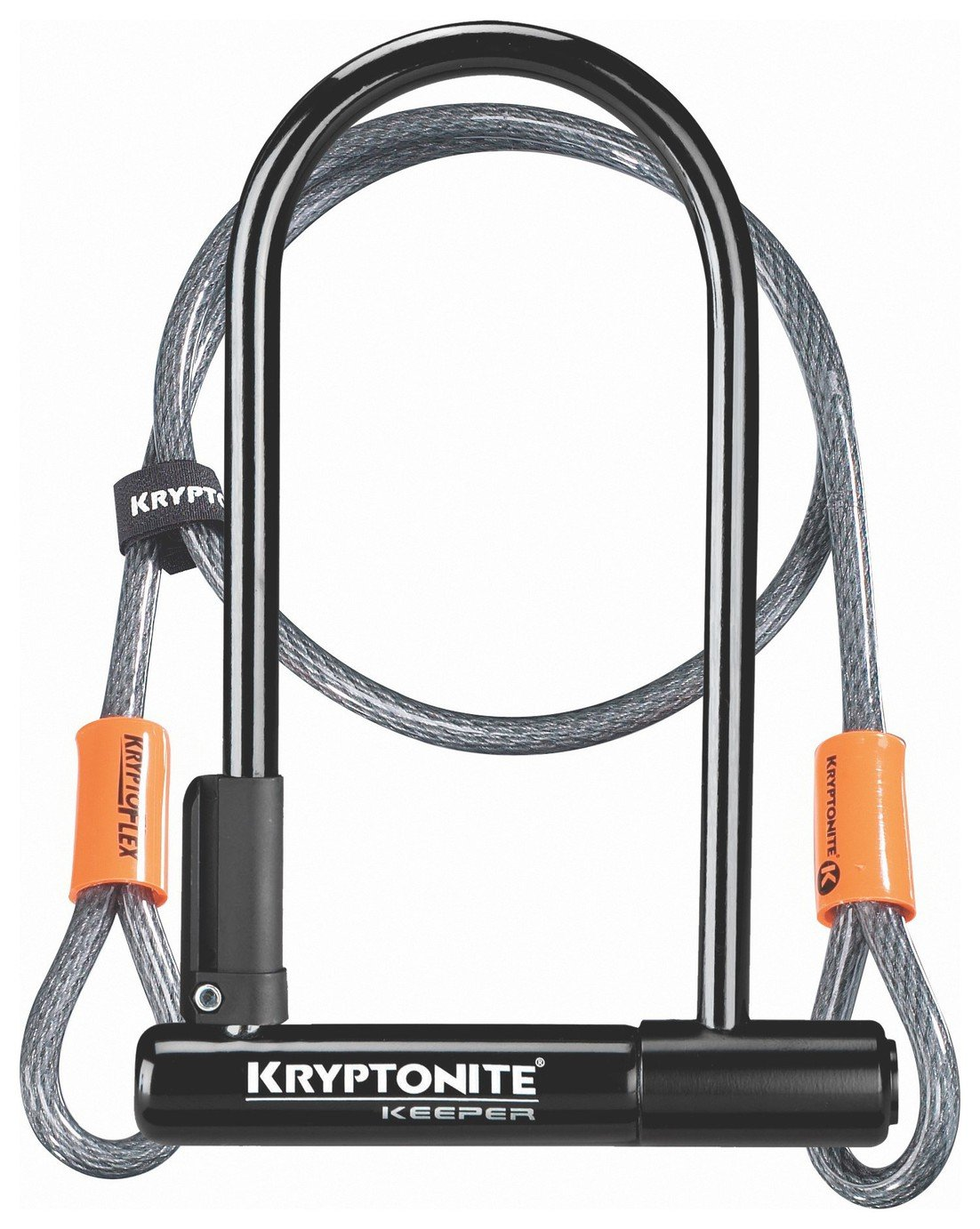 Kryptonite Bike D Lock and Cable Combination
