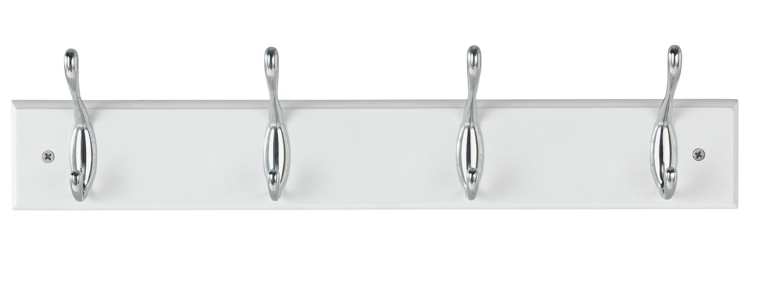 Argos Home 4 Double Chrome Coat Hooks review