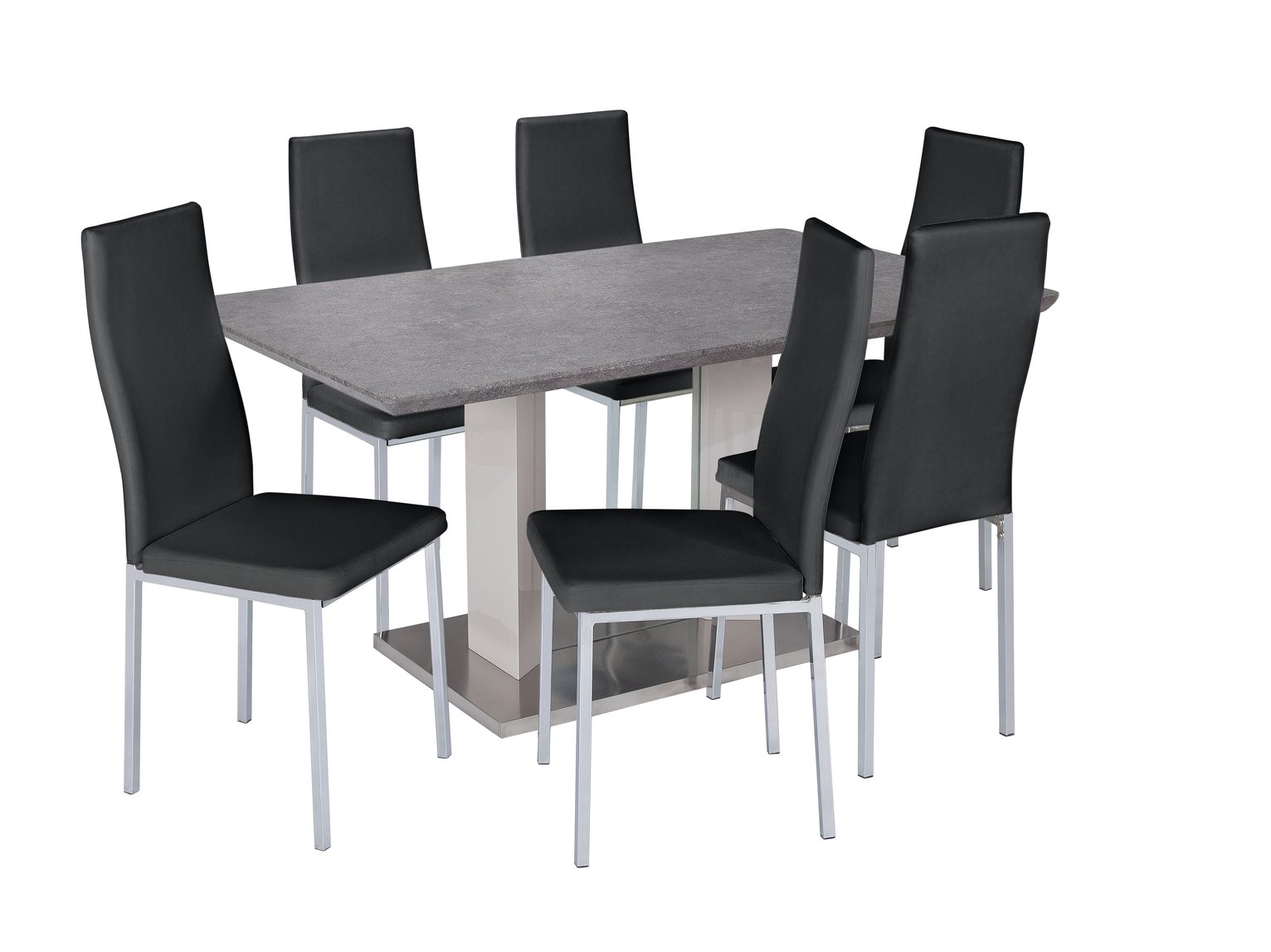 Argos Home Dalston Granite Table and 6 Chairs review