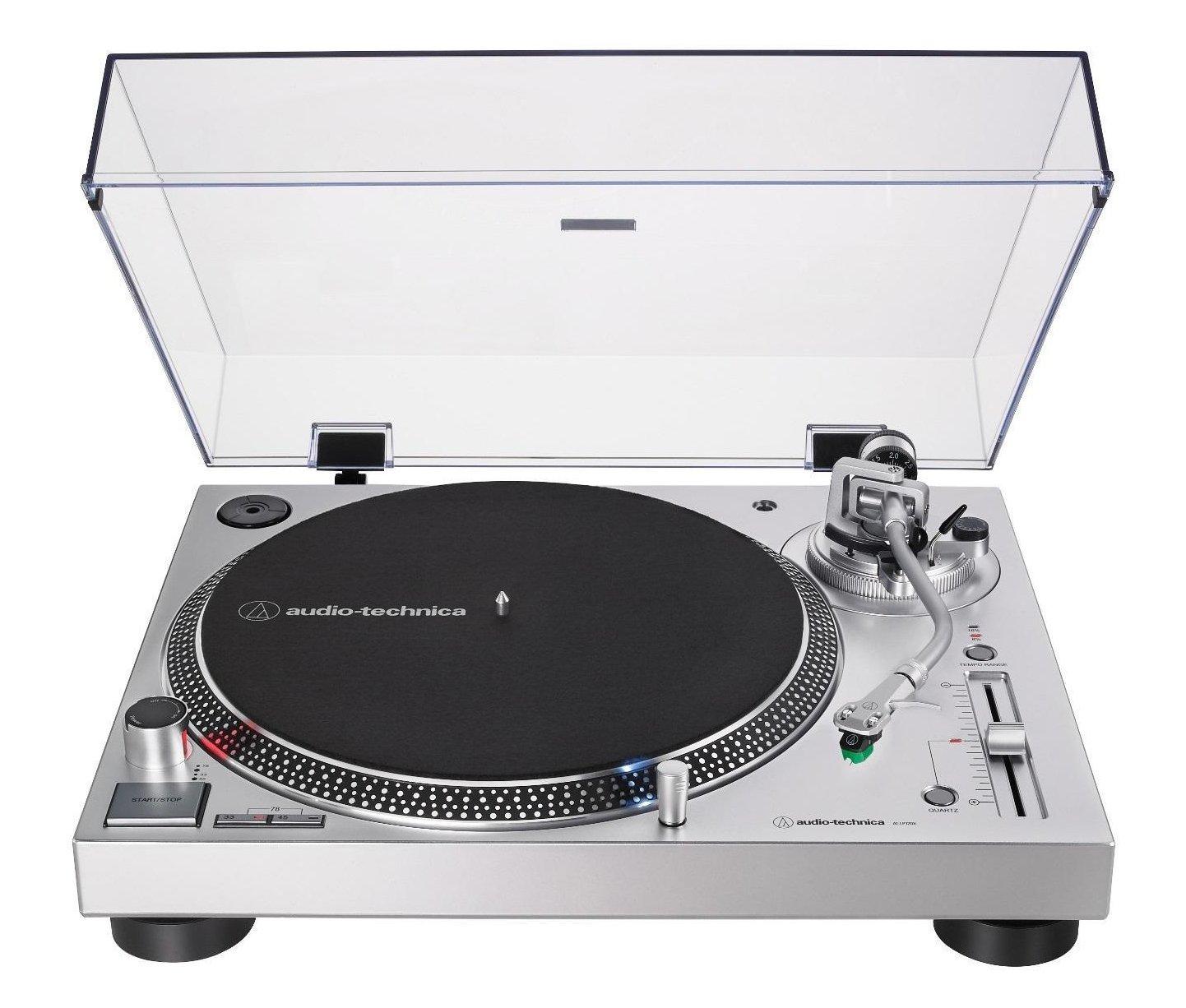 Audio-Technica AT-LP120XUSBSV Direct-Drive Record Player