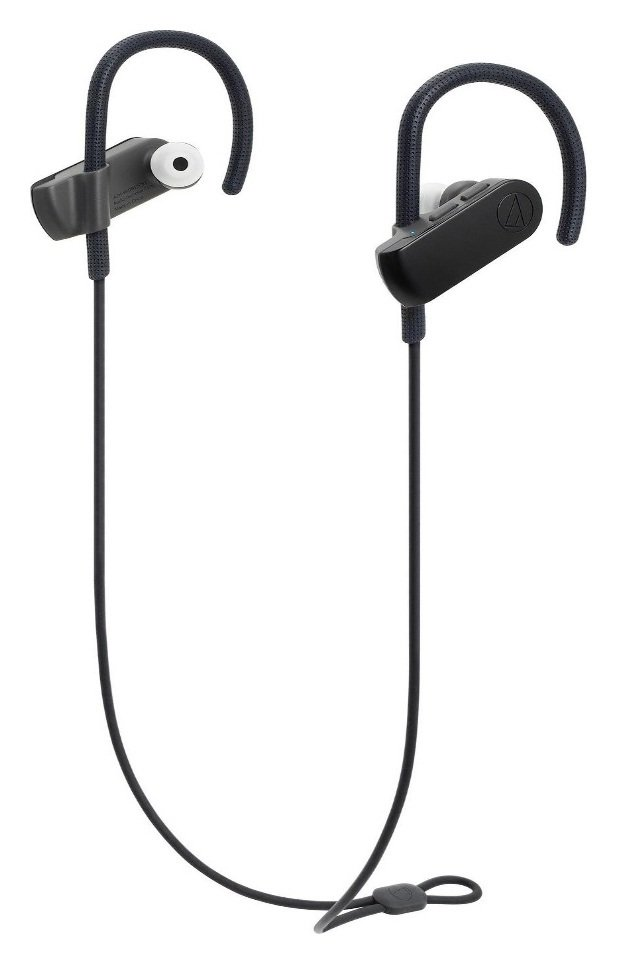 Audio Technica Sport 50BT In-Ear Wireless Headphones - Black