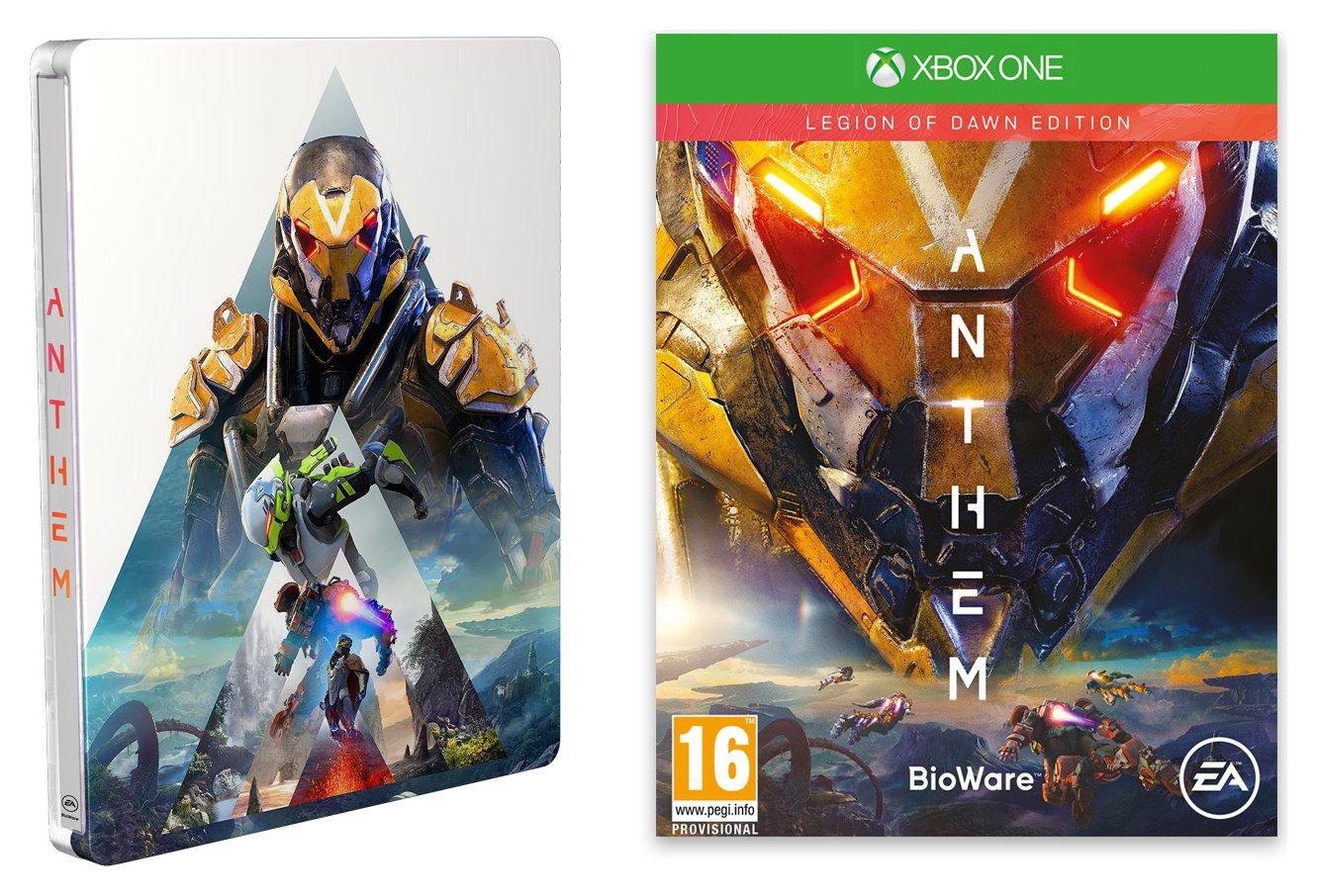 Anthem: Legion of Dawn Steelbook Edition Xbox One Game