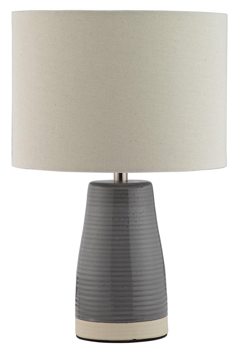 Argos Home Coastal Grey Ceramic Table Lamp