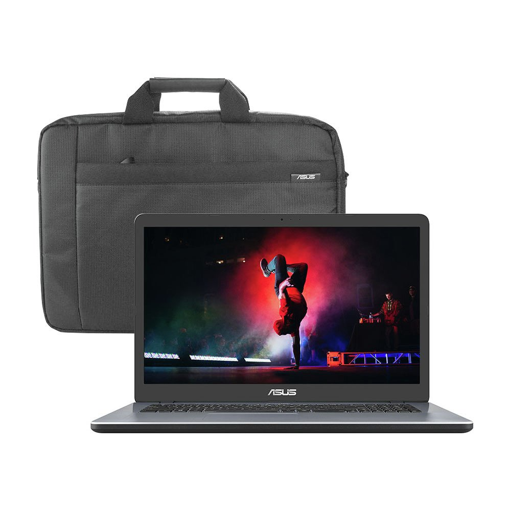 ASUS VivoBook X705 17.3 Inch i3 8GB 1TB Laptop & Bag - Grey