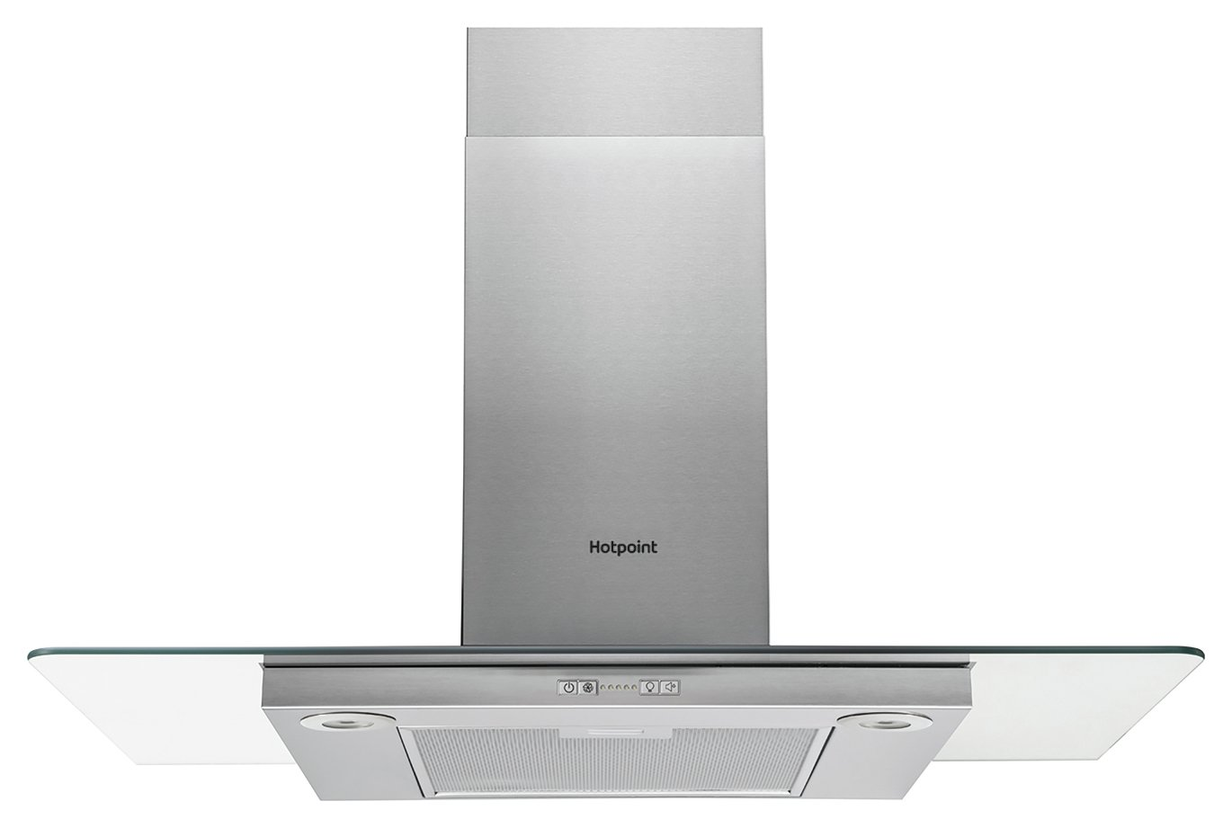 Hotpoint PHFG9.4FLMX 90cm Cooker Hood - Stainless Steel