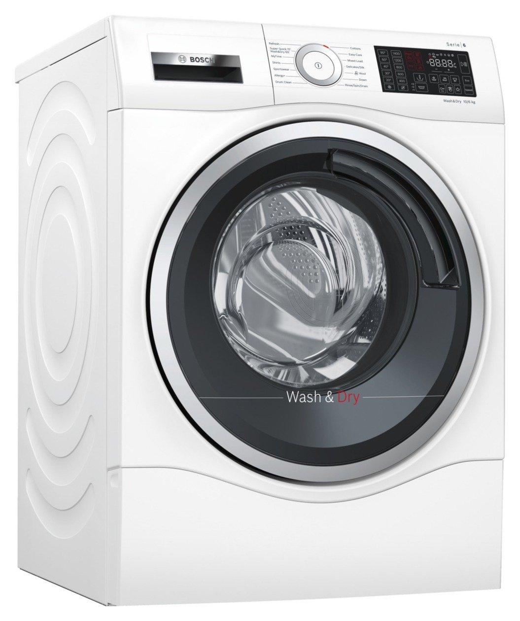 Bosch WDU28560GB 10KG / 6KG 1400 Spin Washer Dryer - White