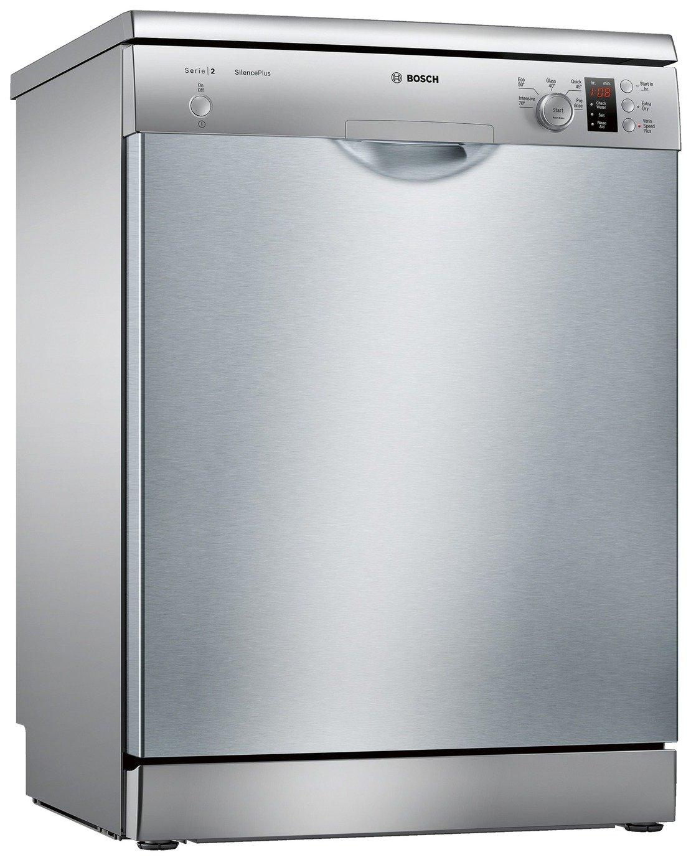 Bosch SMS25AI00G Full Size Dishwasher - Silver