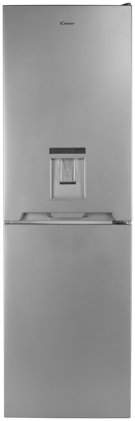 Candy CVS1745SWDK Fridge Freezer - Silver Best Price, Cheapest Prices