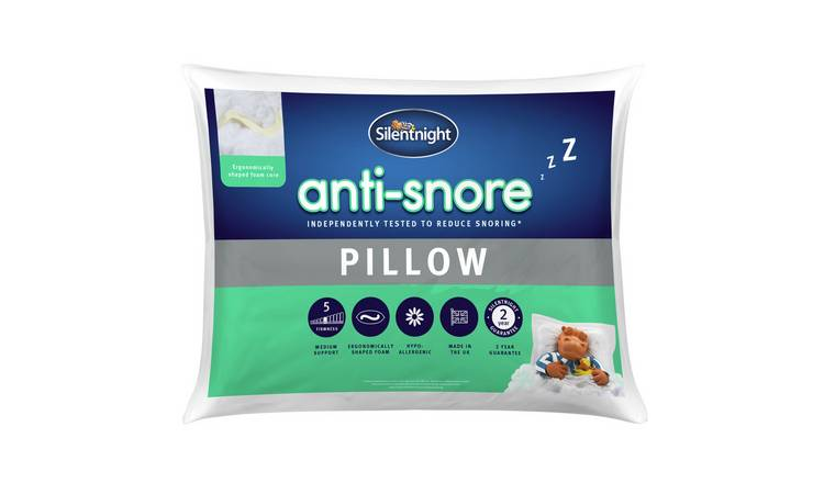 Silentnight Anti-Snore Medium/ Soft Pillow