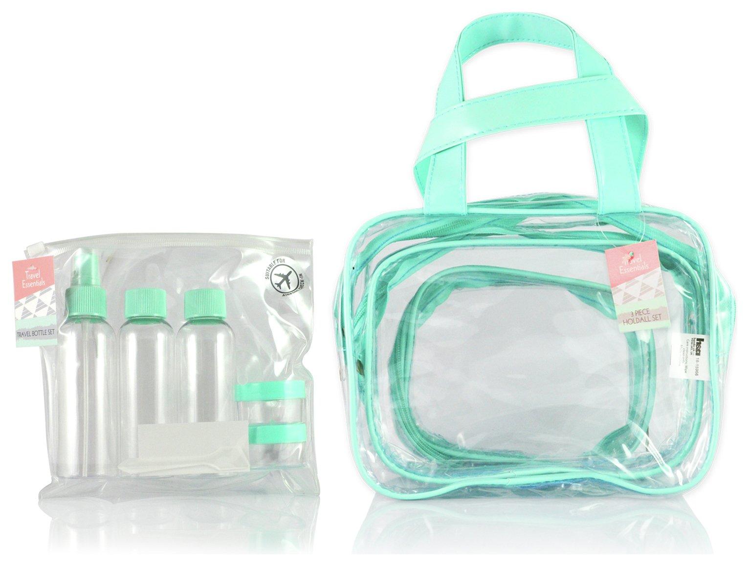 Travel Bag Set of 3 Mini Bottle Set