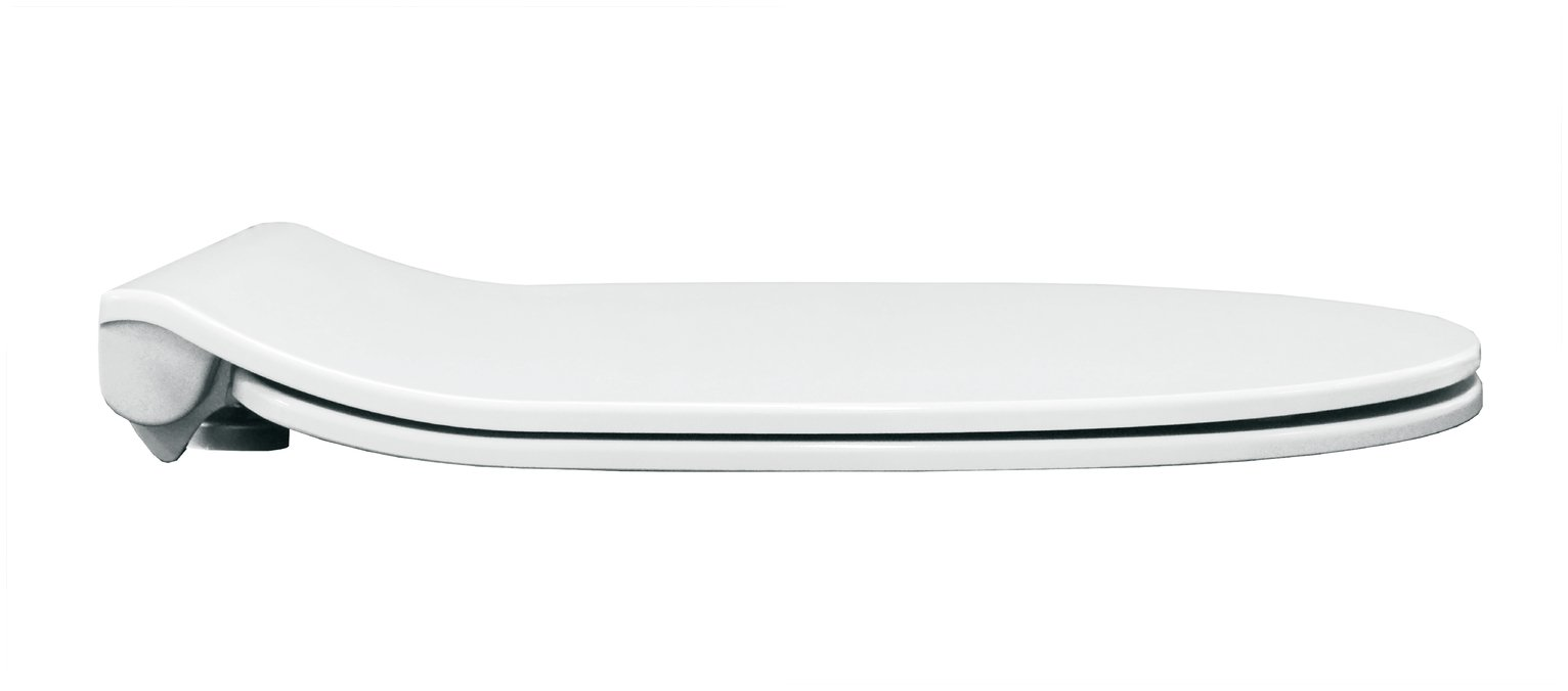 Bemis Design Push and Clean Toilet Seat