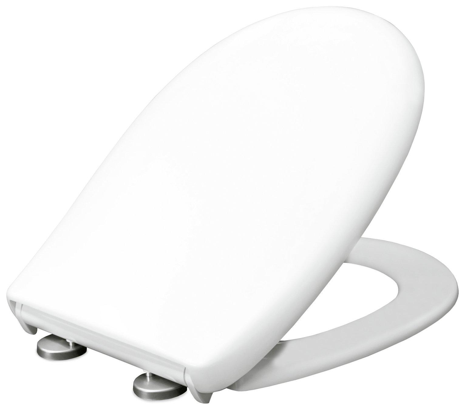 Bemis Classic Push and Clean Toilet Seat