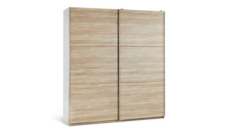 Habitat Holsted Large Wardrobe - Oak Effect