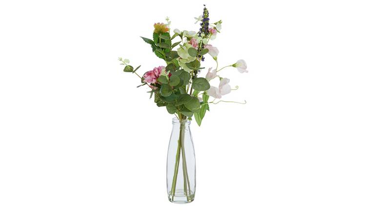 Buy Argos Home Botanist Artificial Flowers In Vase Limited Stock Home And Garden Argos