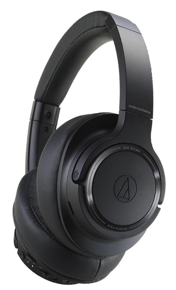 Audio Technica ATH-SR50BTBK Over-Ear Wireless Headphones
