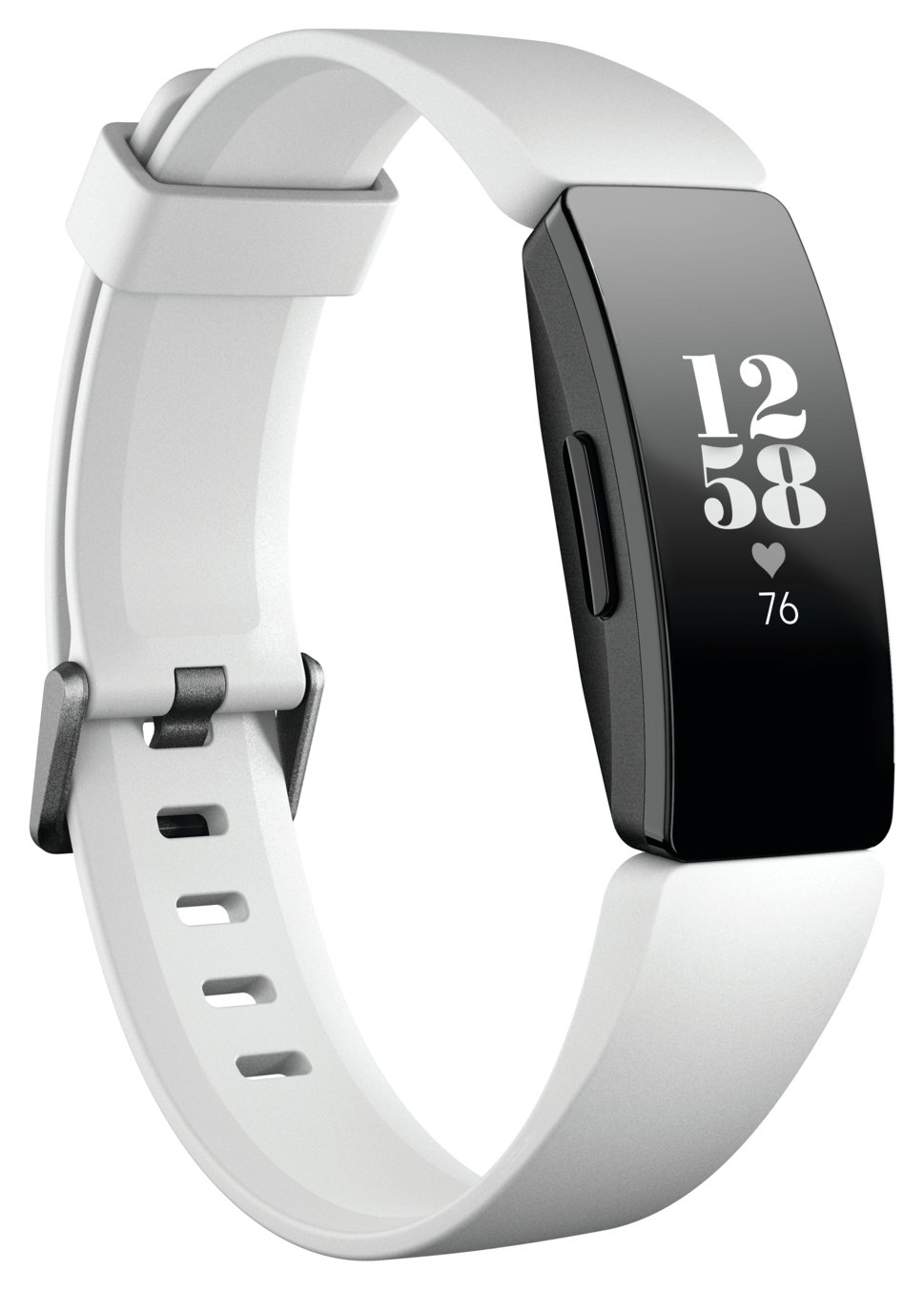 Fitbit Inspire HR Smart Watch - White