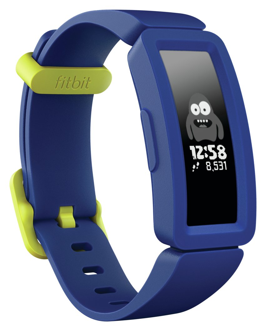 Fitbit Ace 2 Kids Activity Tracker - Night Sky/ Neon Yellow