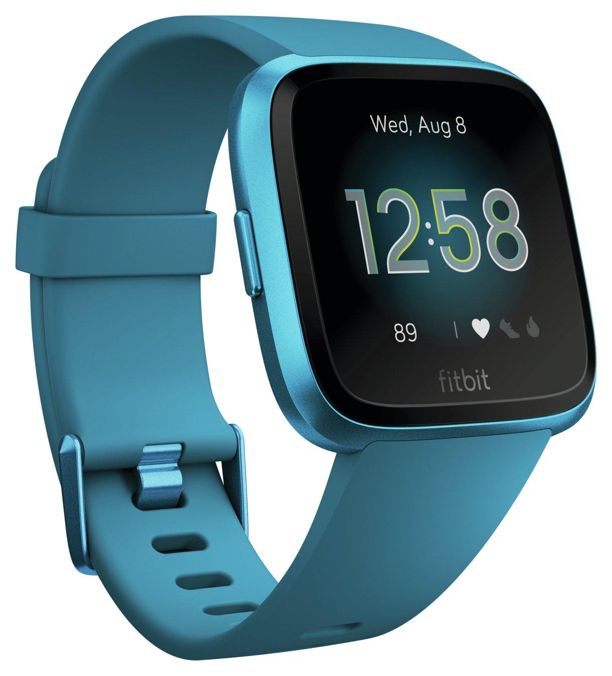 Fitbit Versa Lite Smart Watch - Marina Blue