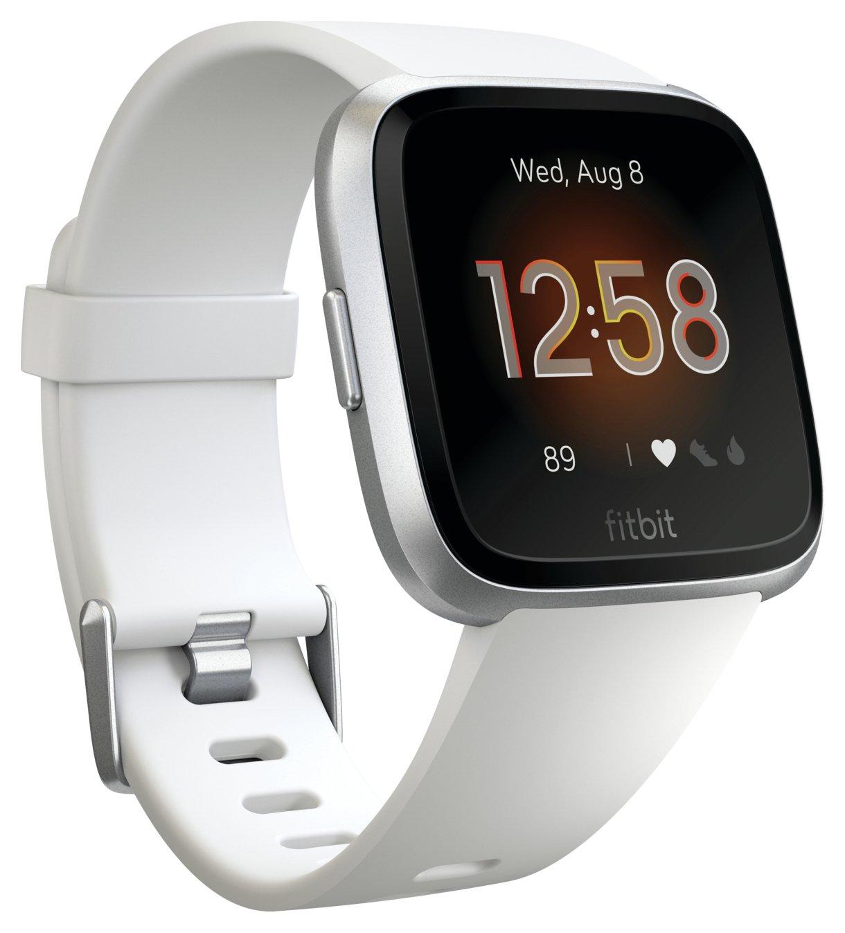 Fitbit Versa Lite Smart Watch - White