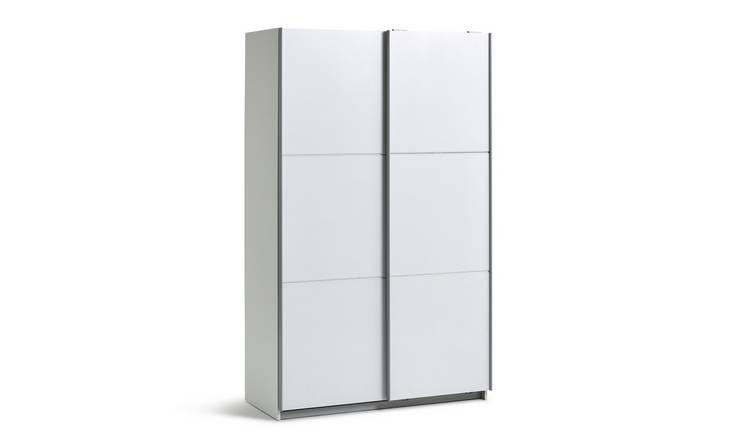 Habitat Holsted White Small Wardrobe