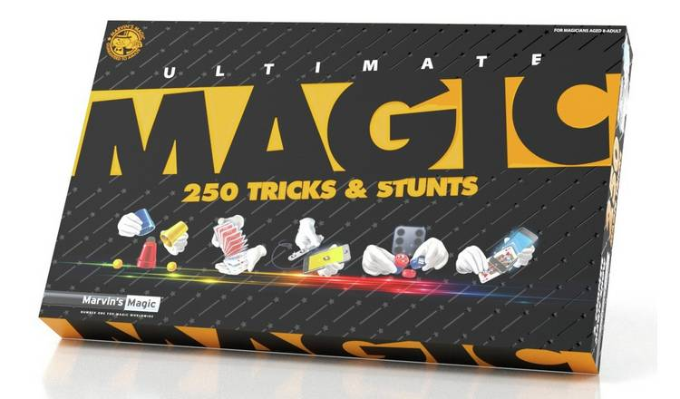 Marvin's Magic Ultimate 250 Tricks & Illusions Set