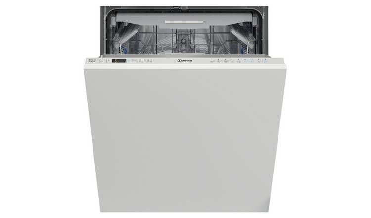 Indesit DIO3T131FEUK Full Size Integrated Dishwasher - White