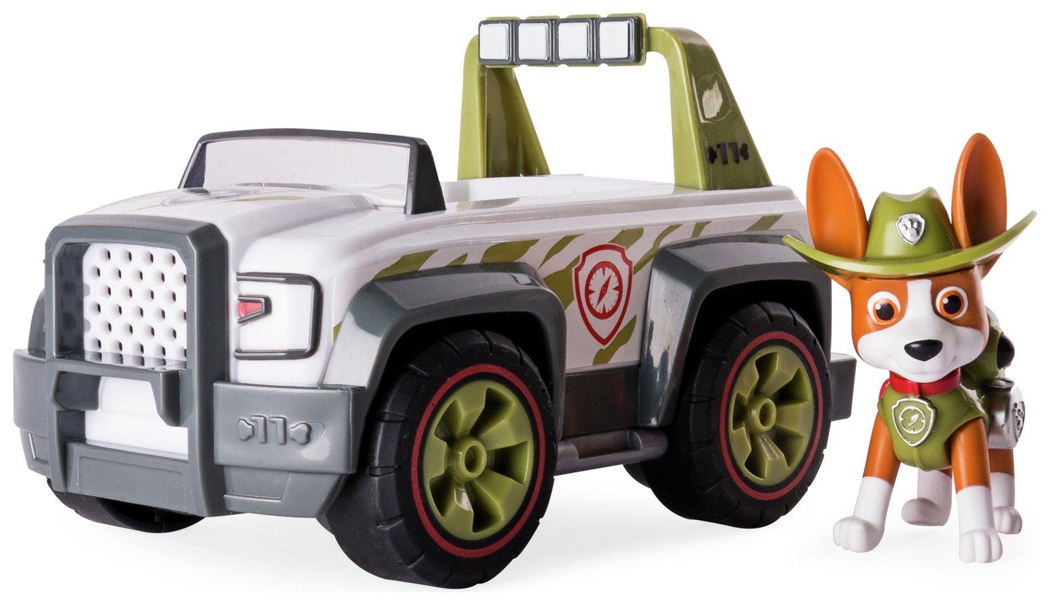 PAW Patrol Tracker's Jungle Cruiser Pup & Vehicle
