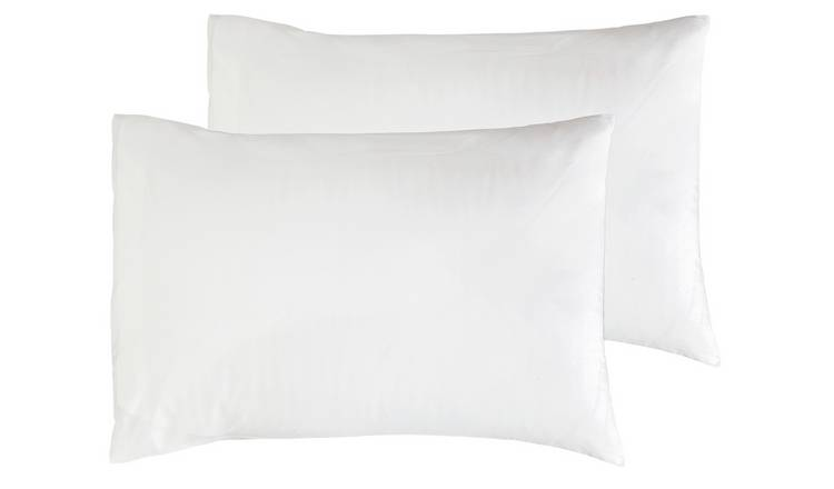 Argos Home Cotton Rich Standard Pillowcase Pair