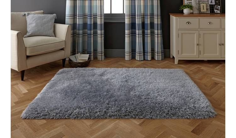 Buy Argos Home Bliss Rug 160x230cm Dove Grey | Rugs | Argos