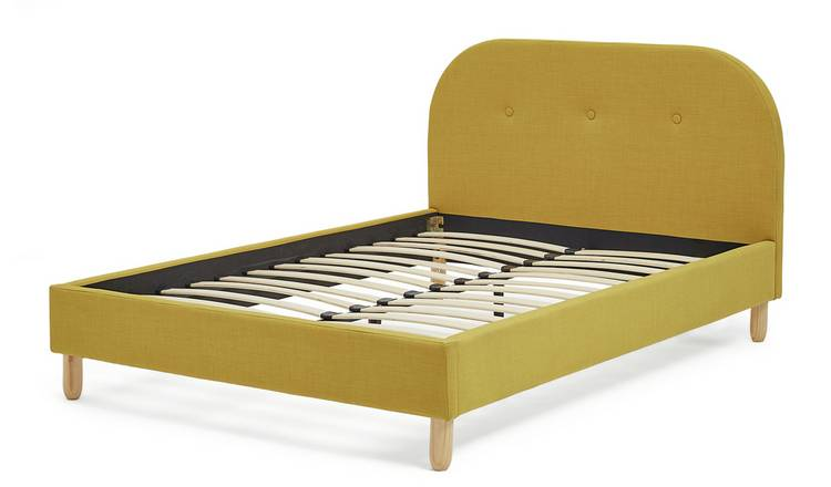 Habitat Elin Small Double Bed Frame - Mustard