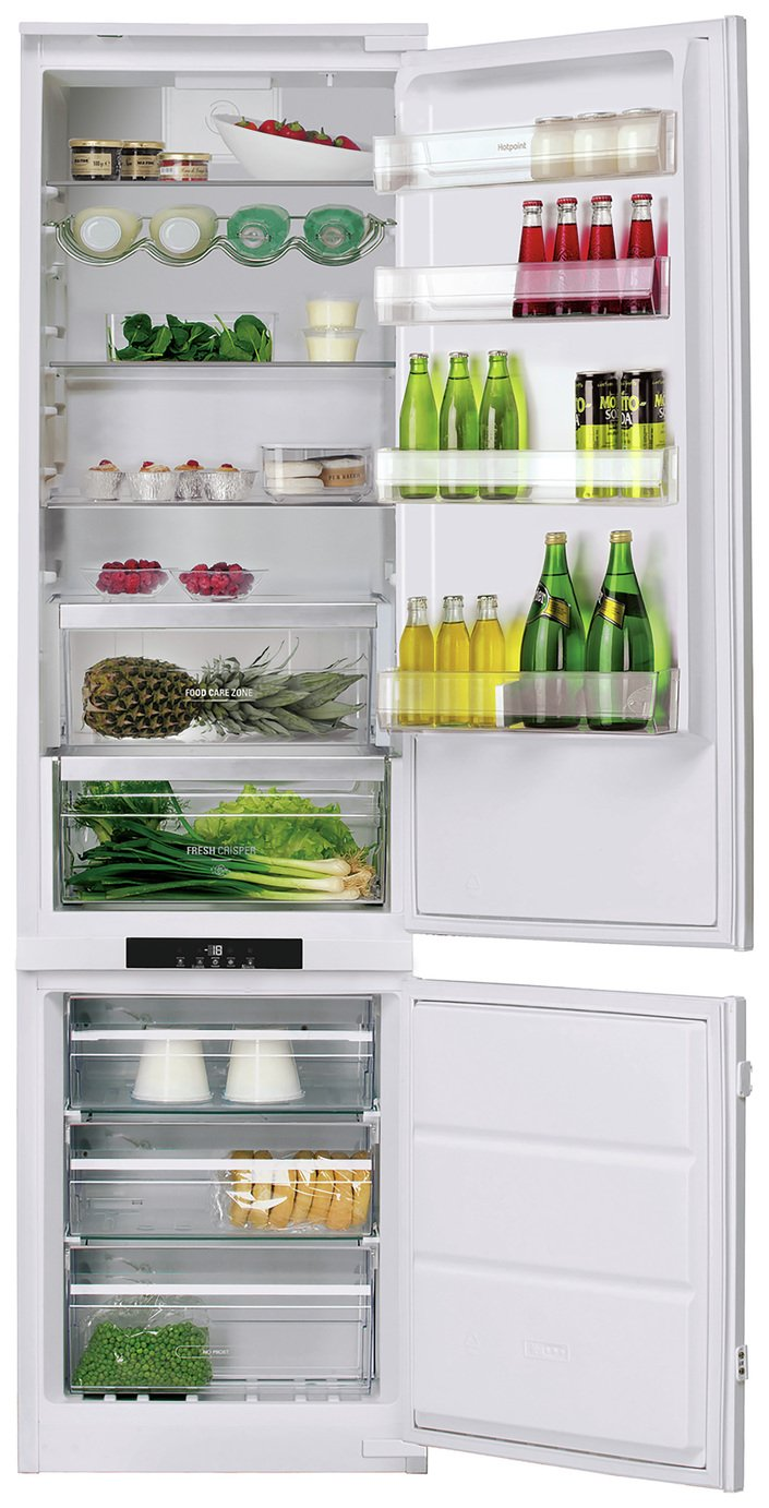 Hotpoint BCB 8020AAFC.1 Integrated Fridge Freezer - White