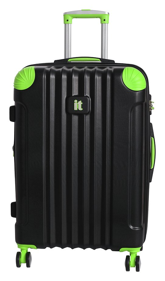 it Luggage Medium Expandable 8 Wheel Hard Suitcase